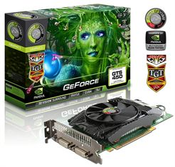 Видеокарта GeForce GTS 450 Beast Edition